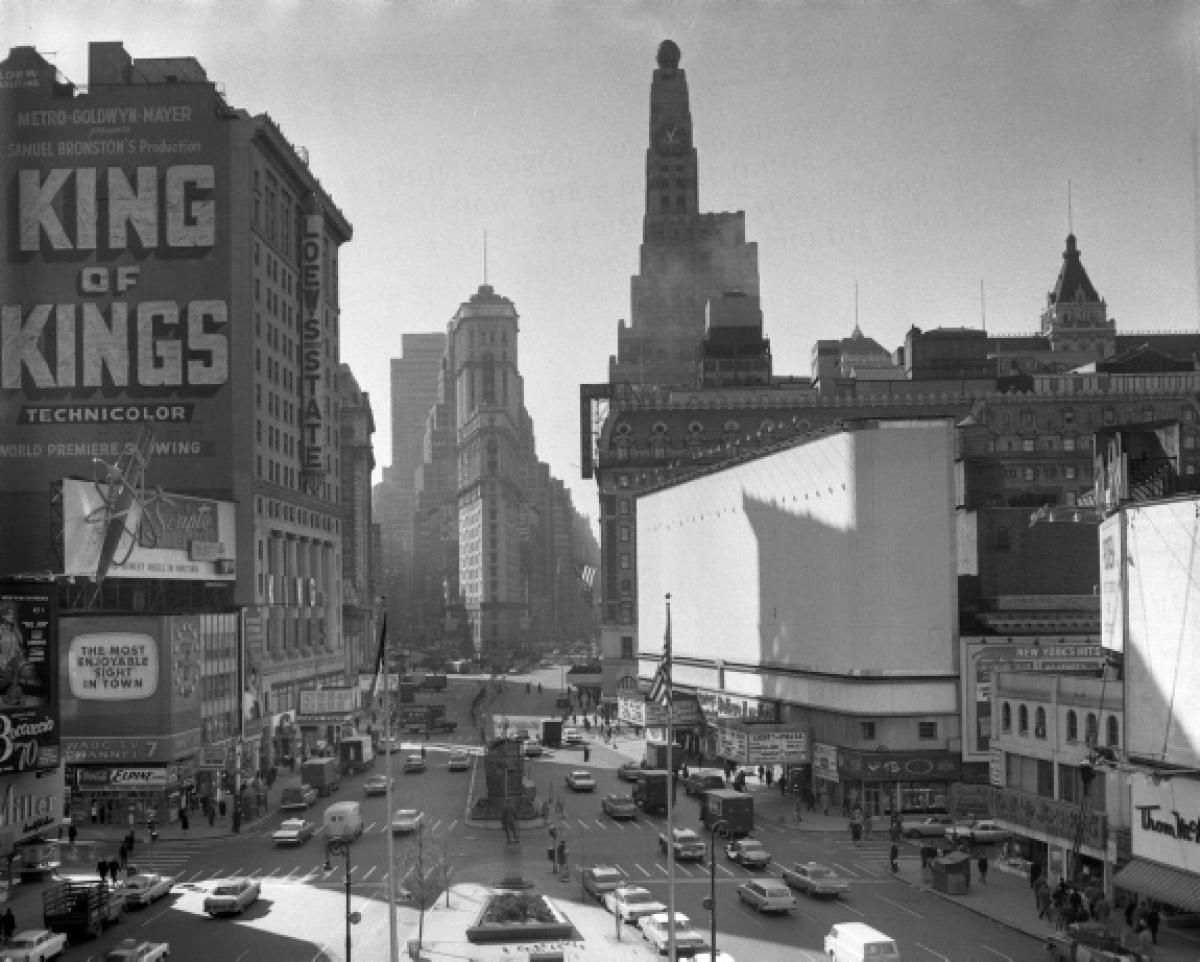 Times Square C 1962 New York City Tours New York Tours City Pictures