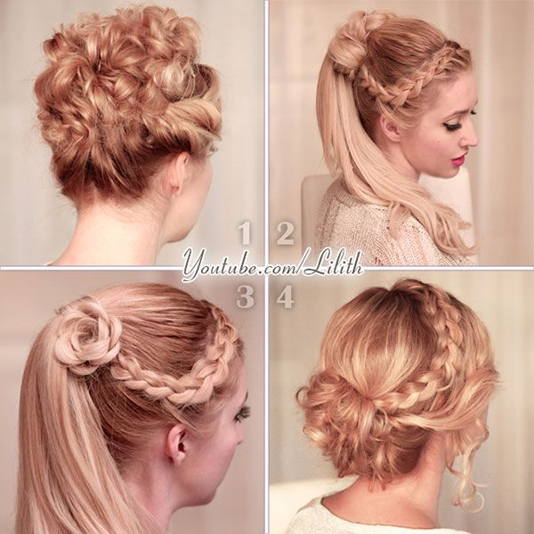 Simple Formal Hairstyles For Thin Hair : Lilith moon: prom wedding hairstyles for medium long hair beauty