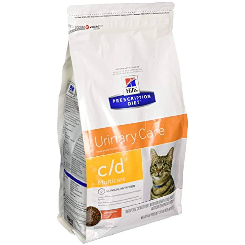Hills C/D Multicare Bladder Health Cat Food 4 lb >>> Visit