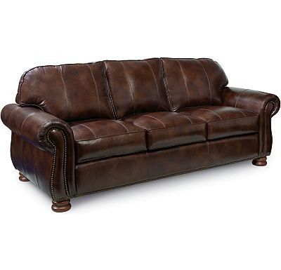 Benjamin Leather Sofa By Thomasville Thomasville Furniture Thomasville Leather Sofa