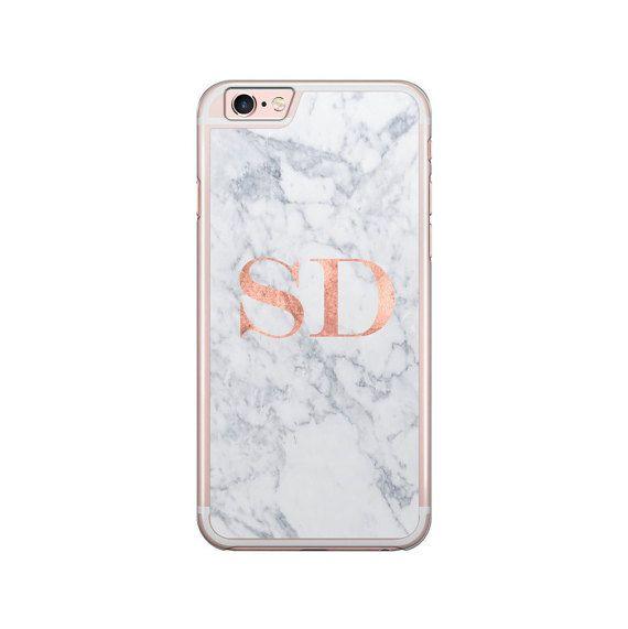 iphone 6 marble case initials