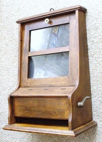 Antique Perfume Dispenser Vending Machine Circa 1910 Coin Op Vendor | eBay