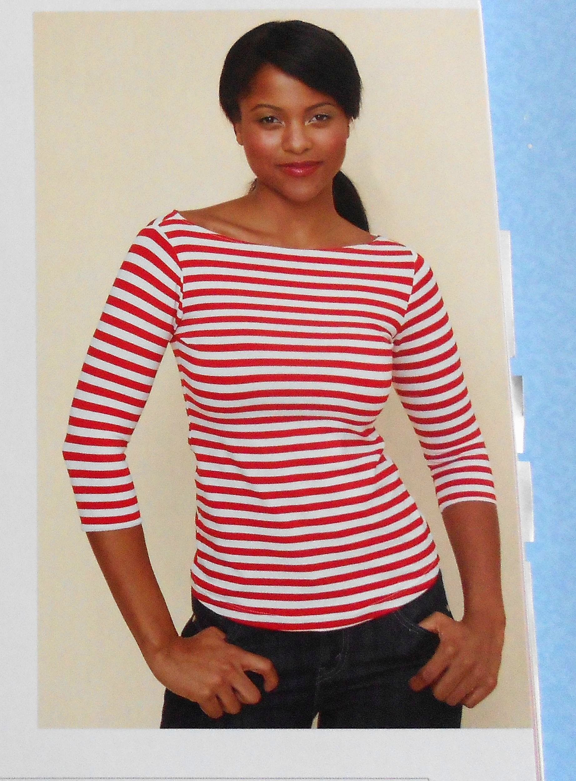 Boat Neck Top from Gertie Sews Vintage Casual | Sewing - pattern ...