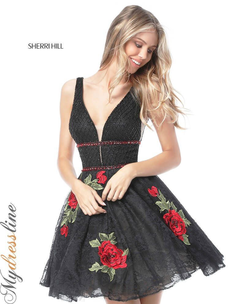 Cool awesome sherri hill short cocktail dress lowest price