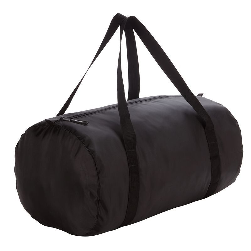 38 - Fitness Bags and Travel Accessories - Fold-Down Duffle Bag - Black  DOMYOS - Accessories 57ed73b1bbfa7