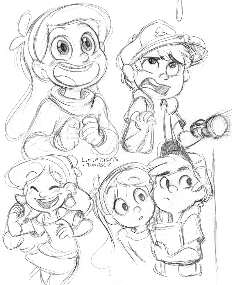 mabel and dipper coloring pages - photo#32