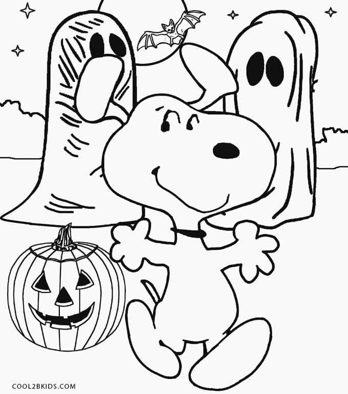 Printable Snoopy Coloring Pages For Kids Cool2bkids Snoopy Coloring Pages Free Halloween Coloring Pages Halloween Coloring Book
