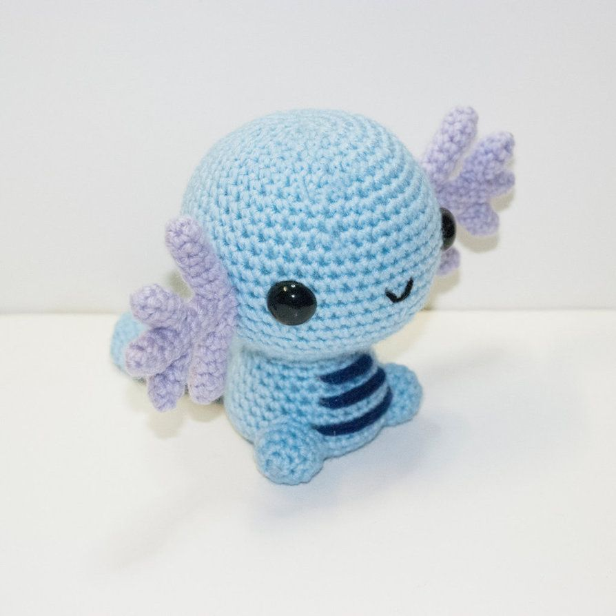 #194 Wooper, the Water Fish Pokémon. Now available and READY TO SHIP!www.etsy.com/listing/228817691…