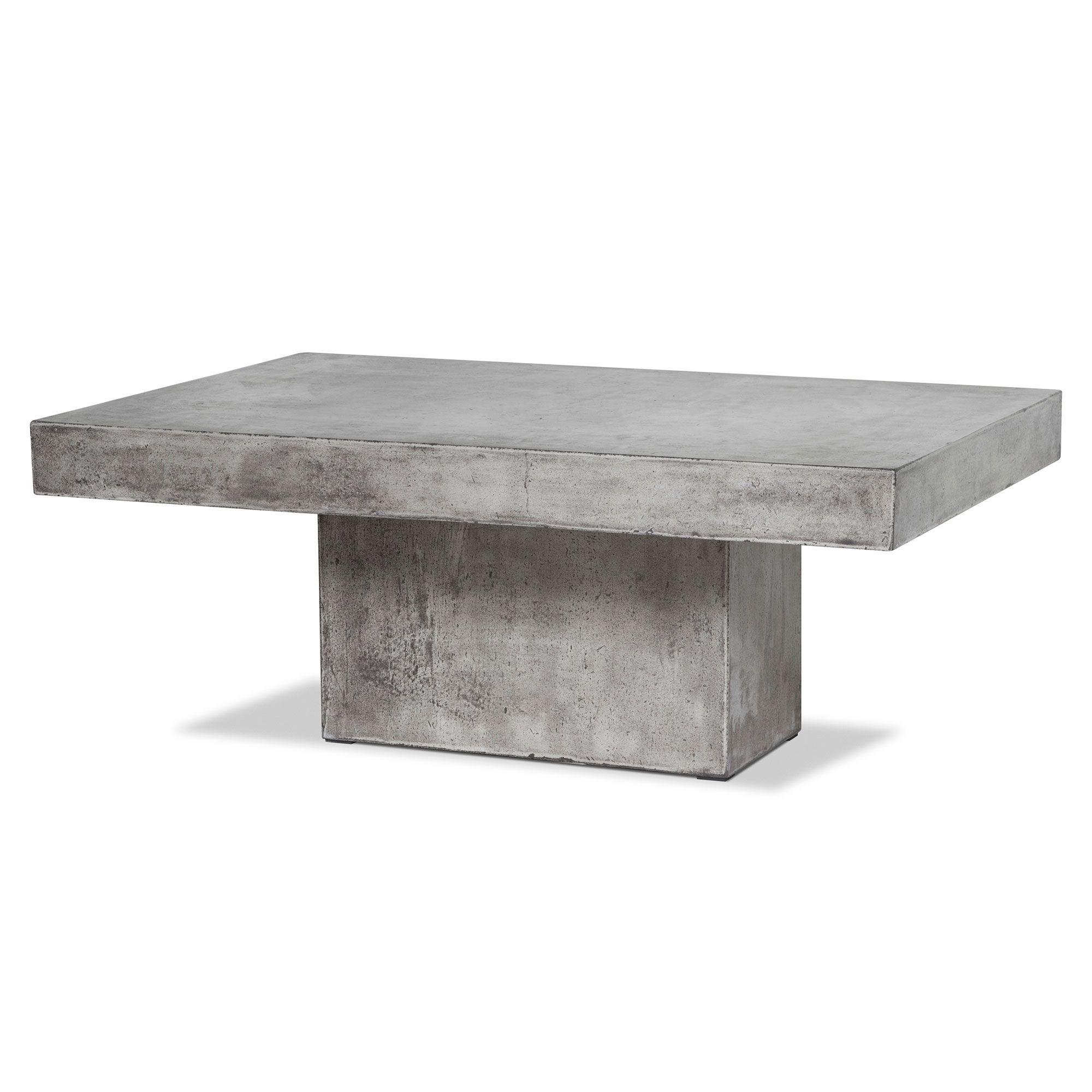 Geradis Lista Coffee Table Concrete Tables