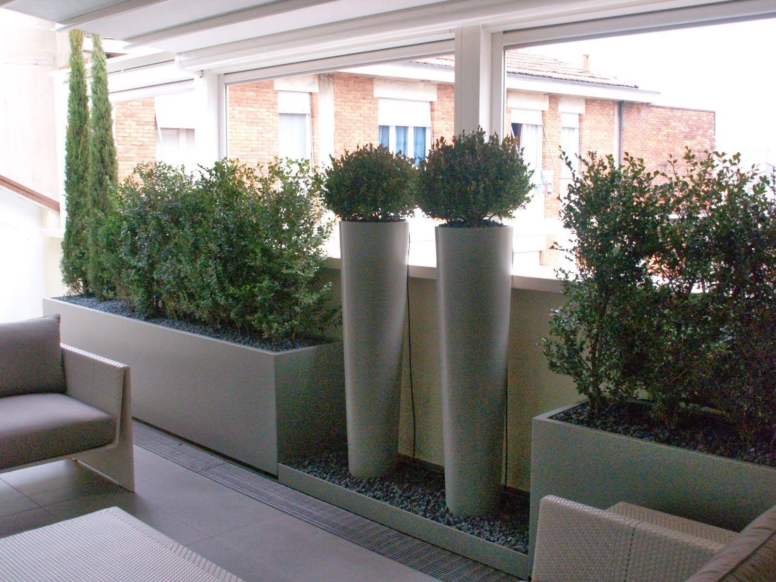 fioriere per terrazzo - Cerca con Google | Terrazas Balcones ...