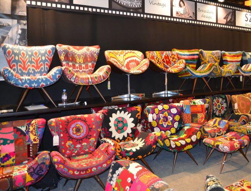 Fauteuils color s on adore ambiance gipsy boh me pinterest fauteuils boh me et - Decoration chambre psychedelique ...