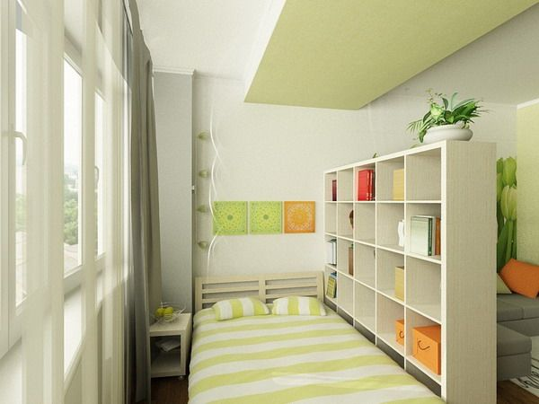Single Bedroom Design For Small Apartment For Young Girl By Tatiana Petrova