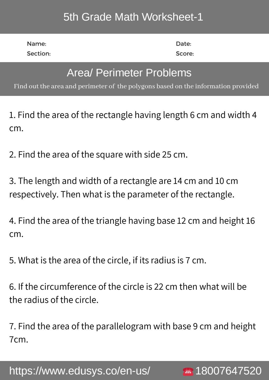 Polygons Worksheets 5th Grade 5th Grade Math Phonics Worksheets Math Worksheet