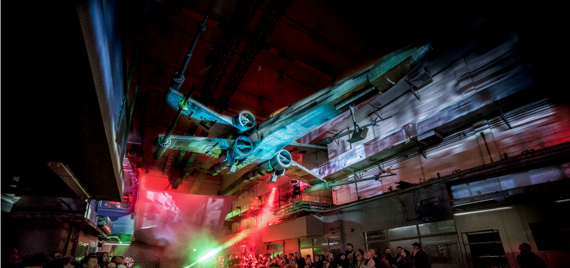 Read our review of 'Secret Cinema Presents The Empire Strikes Back' at The Wander Years. The ultra-immersive experience will be returning soon.