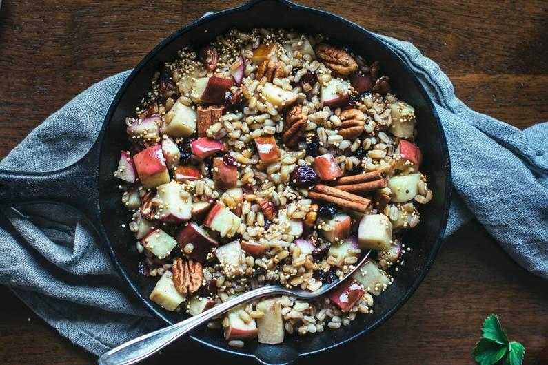 Süße Apfel-Dinkel-Pfanne Rezept – FIT FOR FUN – Carey&CleanEatingS