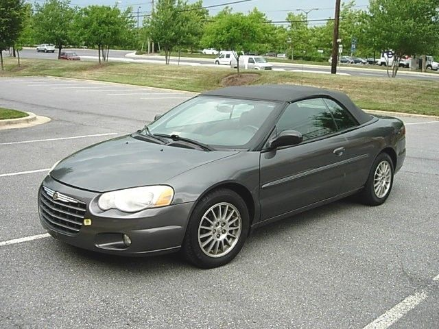 Car Brand Auctioned Chrysler Sebring Gtc Convertible 2 Door