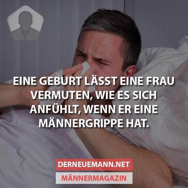 Männergrippe Bilder Lustig