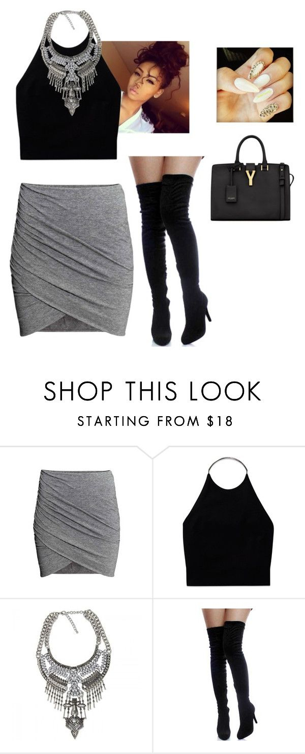 """""""in the office"""" by sweetswagger ❤ liked on Polyvore featuring Wilfred and Yves Saint Laurent"""