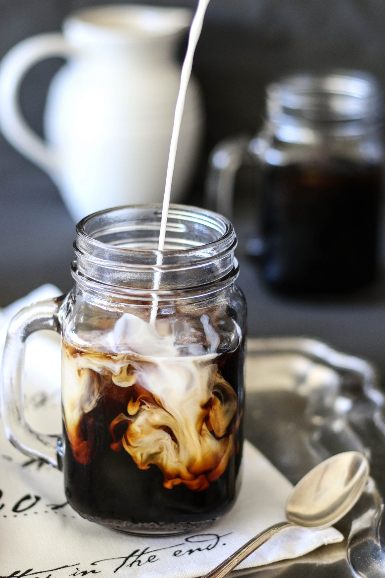 Cold Brew Coffee Coffee photography, Coffee latte