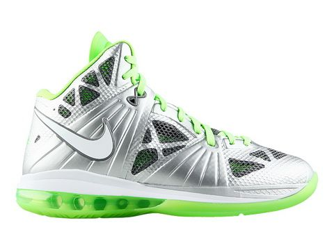 huge discount 4faca cd935 Nike Air Max Lebron 8 PS Dunkman,Style code  441946-002,The Nike Lebron 8 PS  Dunkman features a metallic silver upper which made by flywire technology  and ...