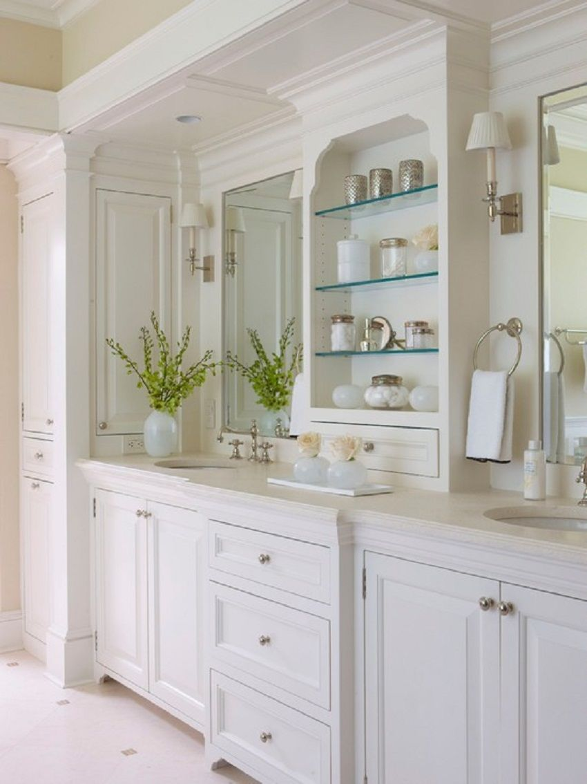 Beautiful Large Bathroom Vanity Design Inspired - Large Bathroom ...