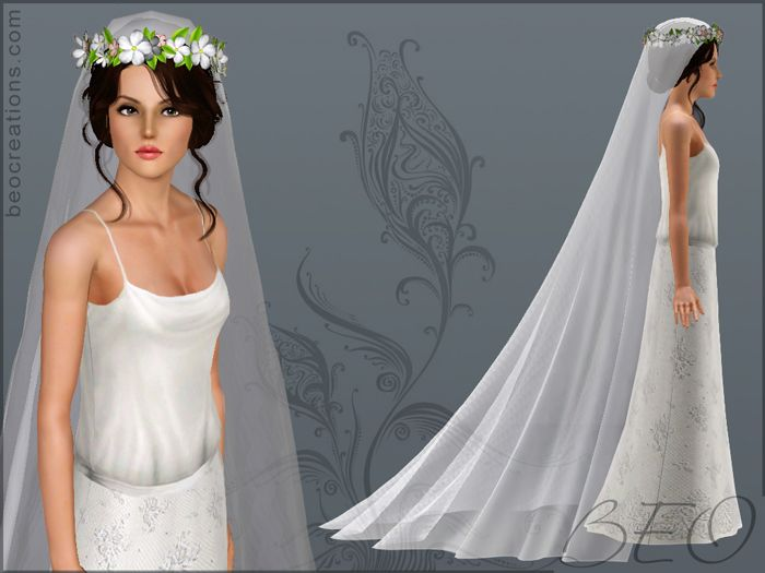 Beo Creations Veil For Wedding The Sims 4 Mm 3