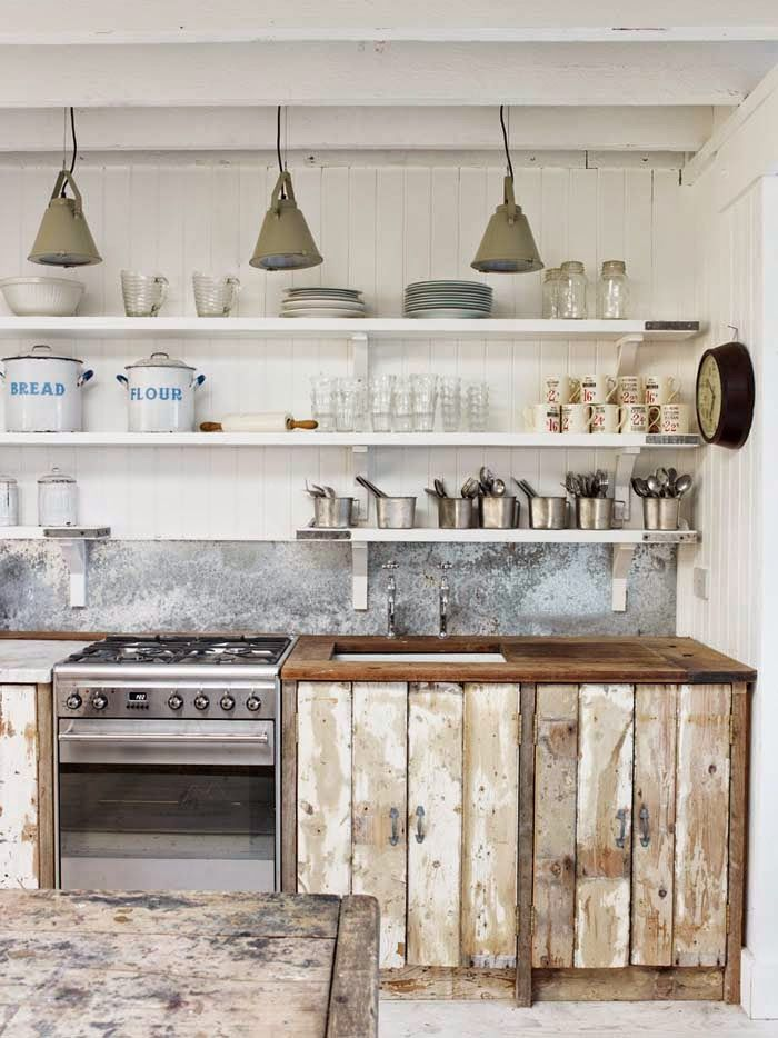upcycling wood recup kitchen. Black Bedroom Furniture Sets. Home Design Ideas