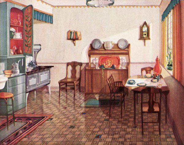 1920s kitchen gallery kitchen flooring cabinetry nooks for 1925 kitchen designs