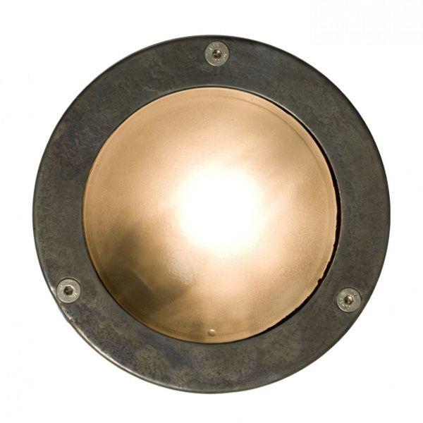 Bullaugenlampe+aus+Messing-+oder+Aluminiumguss+8034 von Davey+Lighting