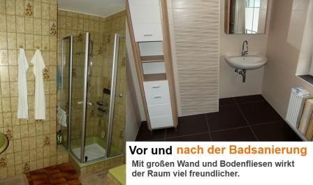 badsanierung vorher und nachher badezimmer fliesen pinterest bad badezimmer und sanierung. Black Bedroom Furniture Sets. Home Design Ideas