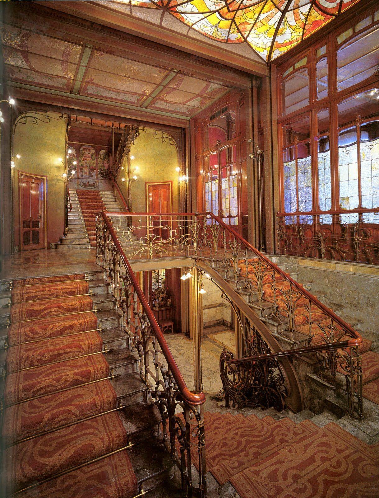 L 39 h tel solvay est un h tel de ma tre bruxellois de style art nouveau con u par l 39 architecte - Difference entre maitre d oeuvre et maitre d ouvrage ...
