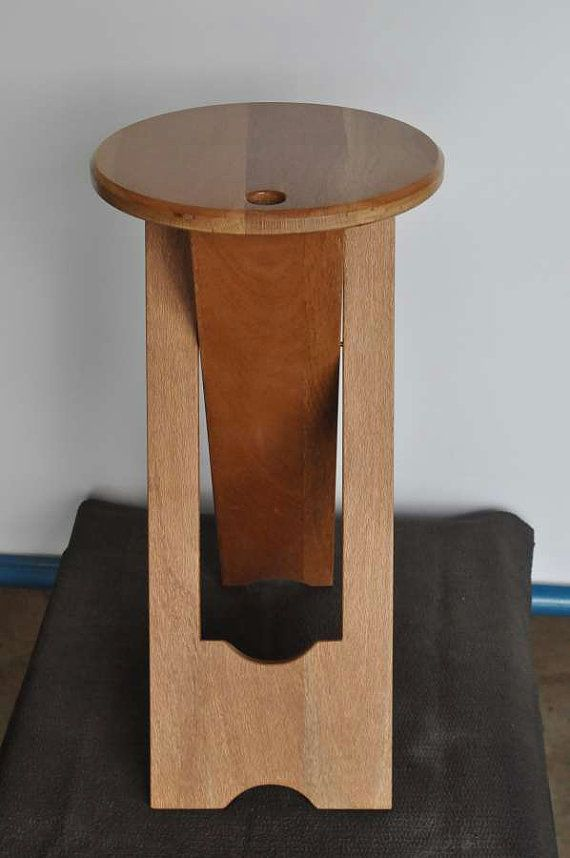Tremendous Folding Stool Or Side Table Musician Or Artist Stool Unique Machost Co Dining Chair Design Ideas Machostcouk