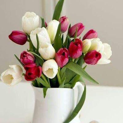 صور ورد 2021 خلفيات ورود زهور جميلة جدا للاهداء Tulips Arrangement Tulips In Vase Flower Arrangements