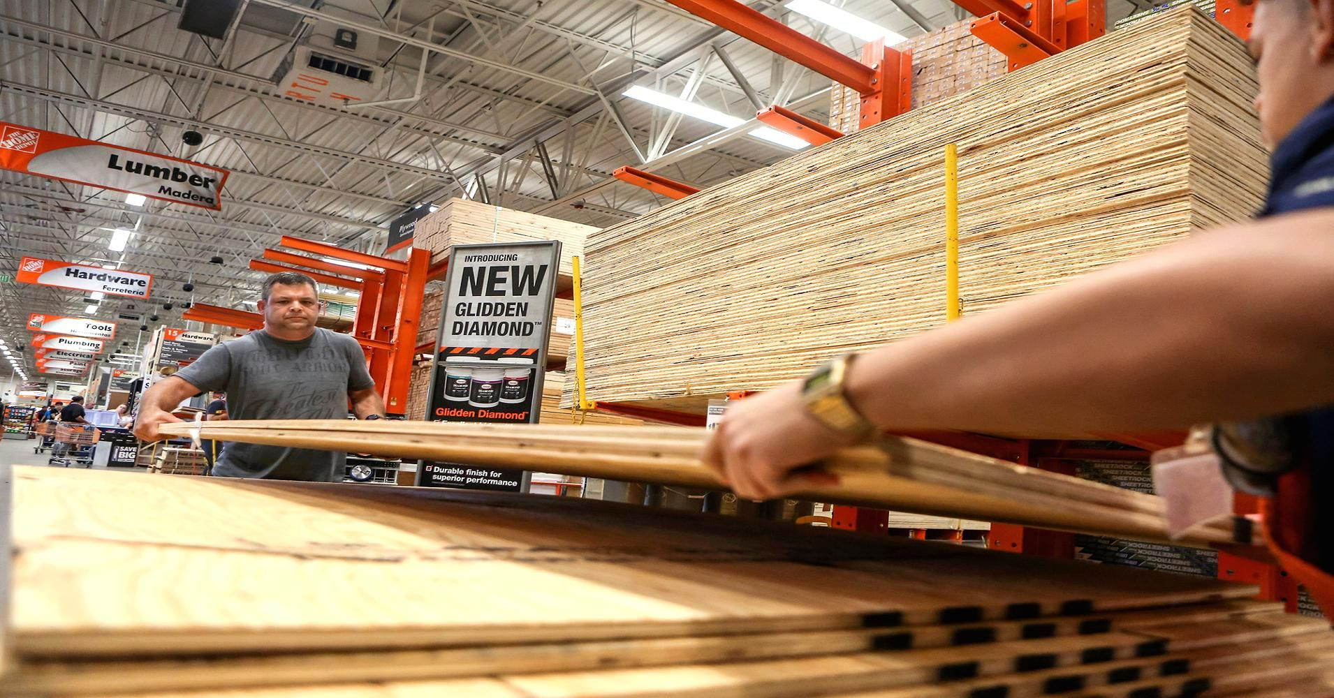 Home depot samestore sales boosted by hurricanes and