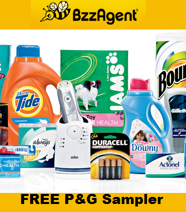 FREE P&G Sampler Pack With BzzAgent! • Canadian Savers