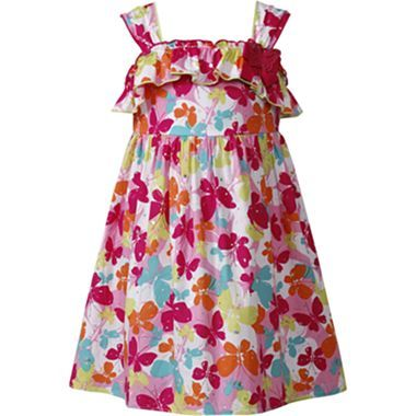 Youngland 174 Butterfly Sundress Girls 2t 5t Jcpenney