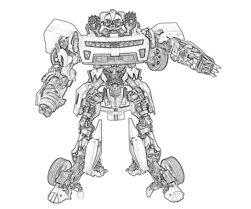 bumblebee transformer coloring pages printable - transformers printable coloring pages printable