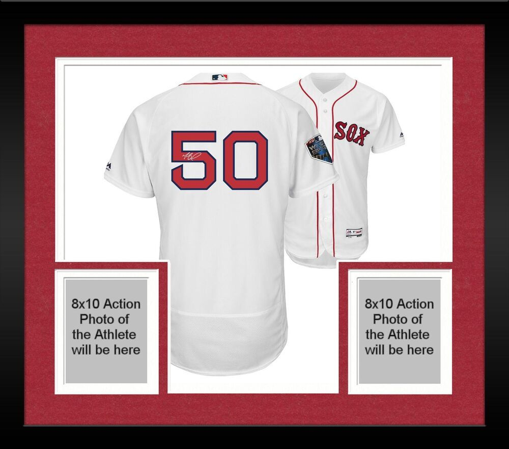 buy online d0bee 0cdd0 Framed Mookie Betts Boston Red Sox 2018 World Series Champs ...