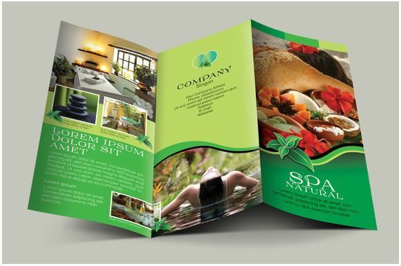Spa Natural Fold Brochures  The Best Travel Pins