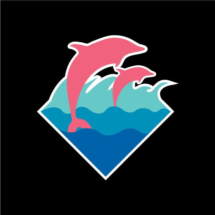 Pink dolphin clothing - Pink dolphin logo wallpaper ...