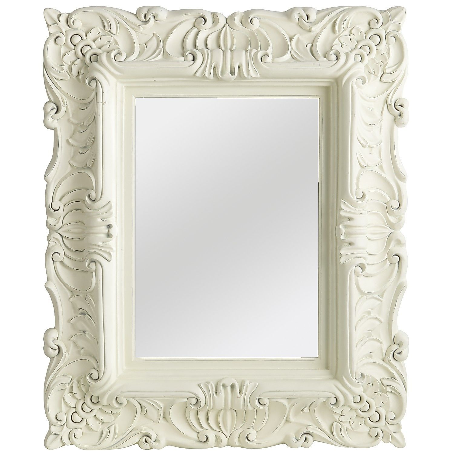 White Baroque Mirror | Pier 1 Imports | I really need to become an ...