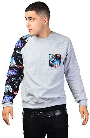 The Astro Crewneck Sweatshirt by Apliiq