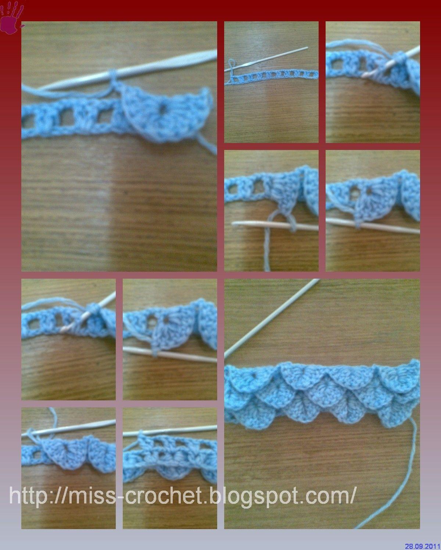 Ms.crochet: Crochet Stitch crocodile stitch | ~⌘~Crochet Everything ...