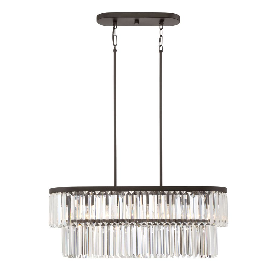 Quoizel Valentina 30In W 4Light Painted Bronze Kitchen Island Awesome Lowes Dining Room Light Fixtures Design Inspiration