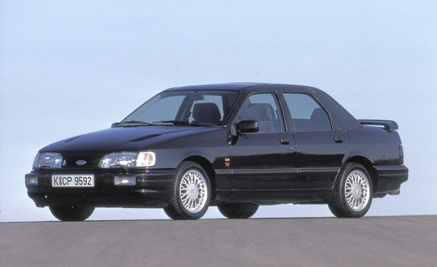 A Visual History Of Every Ford Rs Model Ford Sierra Ford Rs