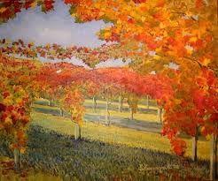 Risultati Immagini Per Dipinti Paesaggi Autunnali Arte E Immagine
