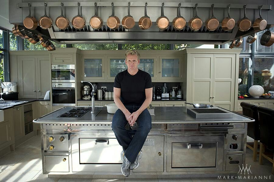 Gordon in his kitchen at home... (With images) Simple