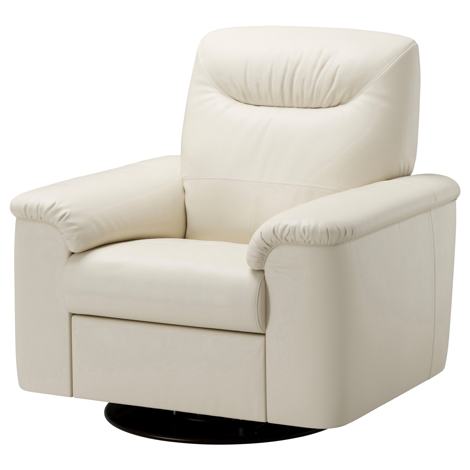 TIMSFORS Swivel Recliner IKEA Contact Areas With Soft, Dyed Through Mm  Thick Grain Leather That Is Supple And Smooth To The Touch.