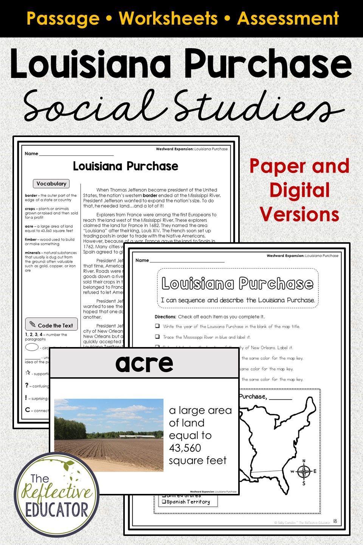 Louisiana Purchase: Your Free Essay Examples and Topics at EduZaurus
