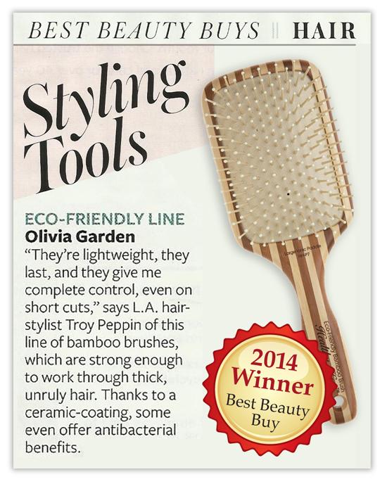 InStyle Magazine showcased the OliviaGarden brushes!